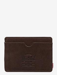 Charlie Leather RFID - Nubuck Brown - NUBUCK BROWN