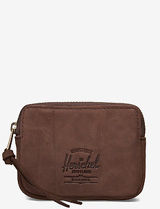 Oxford Pouch Leather RFID - Nubuck Brown - NUBUCK BROWN