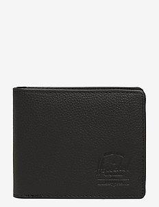 Hank Leather RFID - Black Pebbled Leather - BLACK PEBBLED LEATHER