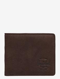 Hank Leather RFID - Nubuck Brown - NUBUCK BROWN