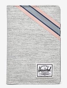 Raynor Passport Holder RFID - annet - light grey crosshatch/grey