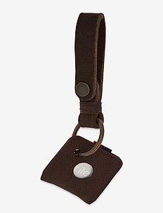Keychain + Tile - reise-accessoires - brown pebbled nubuck