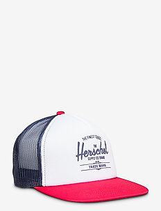 Whaler Mesh - caps - white/peacoat/tango red/peacoa