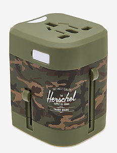 Travel Adapter - accessoires de voyage - woodland camo