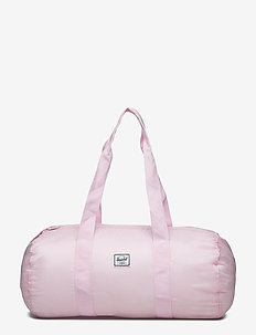 Packable Duffle - PINK LADY CROSSHATCH