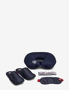 Amenity Kit S/M-Navy/Red - reiseeffekter - navy/red