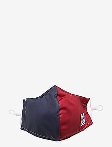 Classic Fitted Face Mask-Blue/Red - kasvomaskit - blue/red