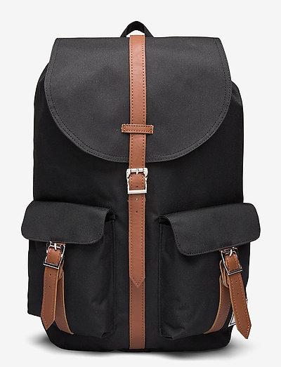 Dawson - reput - black/tan synthetic leather
