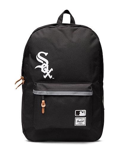 Heritage - Chicago White Sox Rucksack Tasche Schwarz HERSCHEL