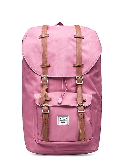 Herschel Little America-Heather Rose Bags Backpacks Casual Backpacks Pink HERSCHEL