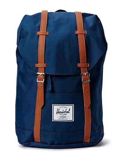 Retreat Rucksack Tasche Blau HERSCHEL