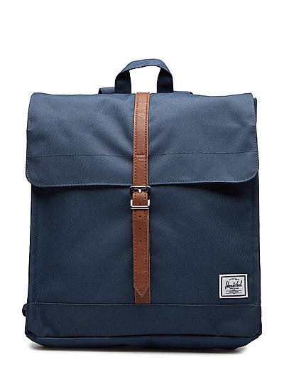 City Mid-Volume Rucksack Tasche Blau HERSCHEL