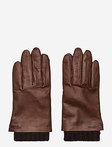 Megan - gloves - chestnut