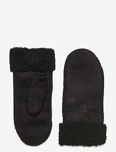 Sheepskin Mitt - hanskat - black