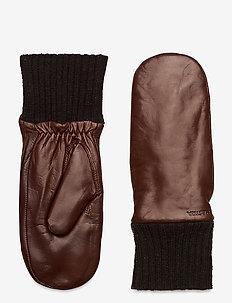Tina - gants - chestnut