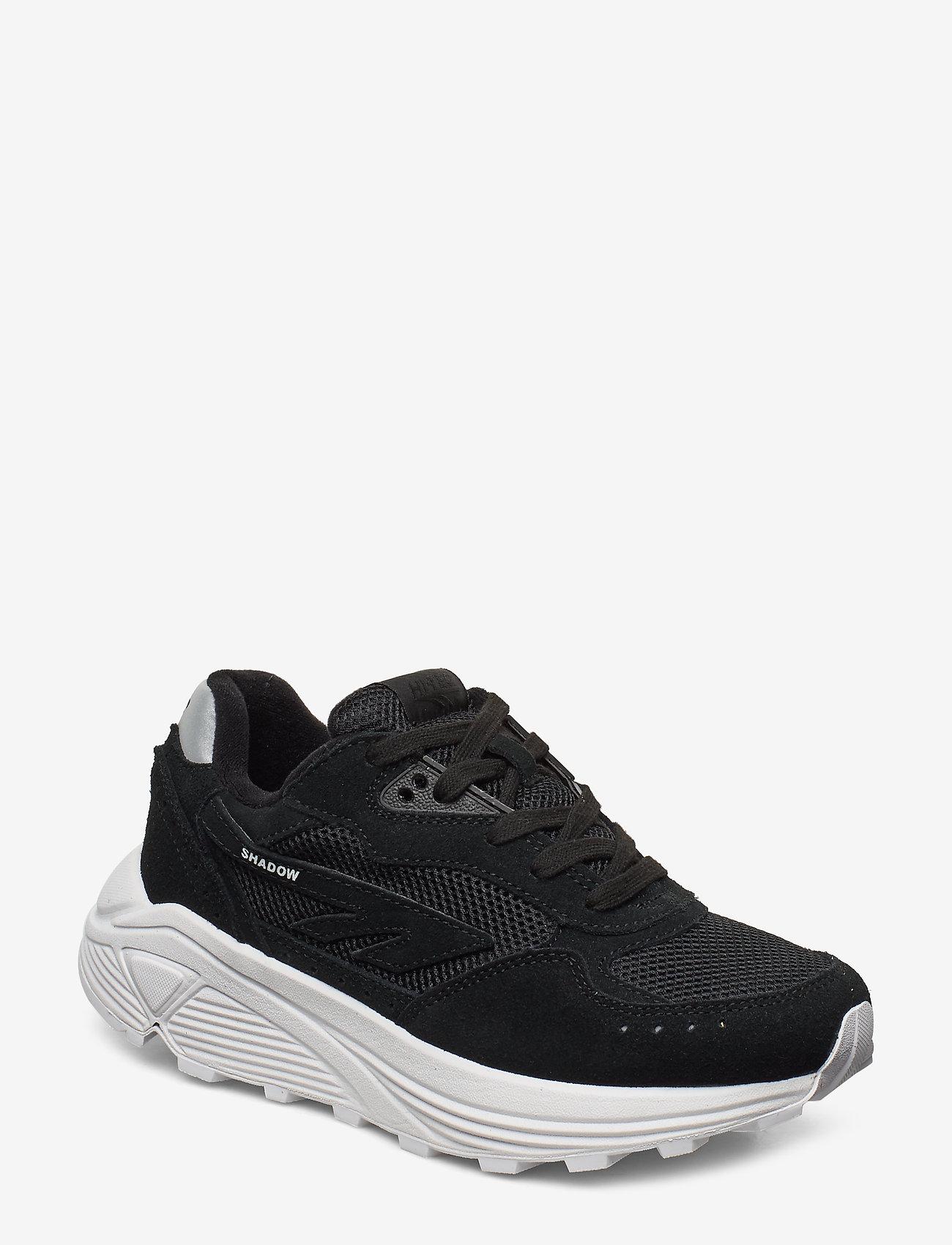 Hi-Tec - HT SHADOW RGS CORE SUEDE BLACK/WHITE - chunky sneakers - black/white - 0