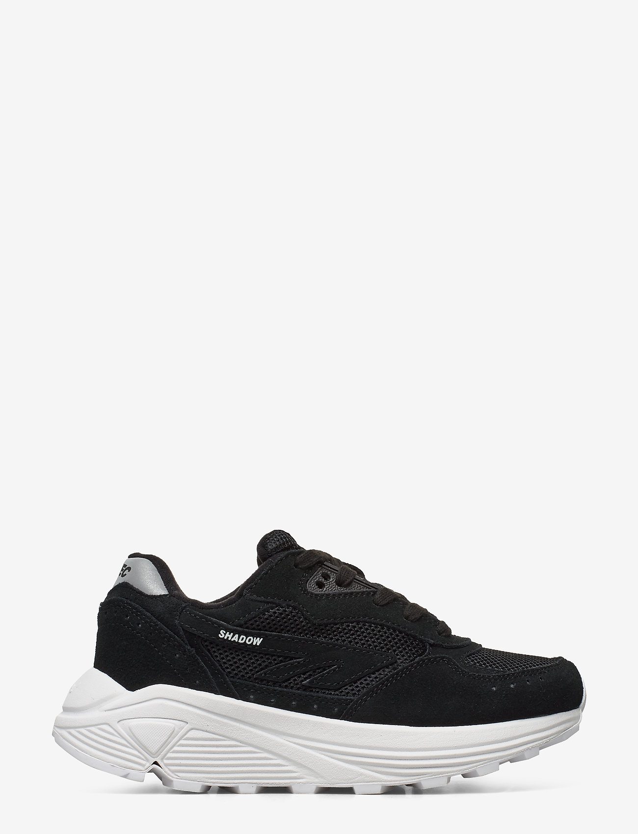 Hi-Tec - HT SHADOW RGS CORE SUEDE BLACK/WHITE - chunky sneakers - black/white - 1