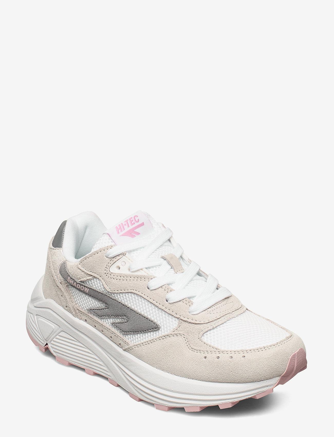 Hi-Tec - HT HTS SHADOW RGS OFF WHT-PEACH - sneakers med lav ankel - off wht-peach - 0