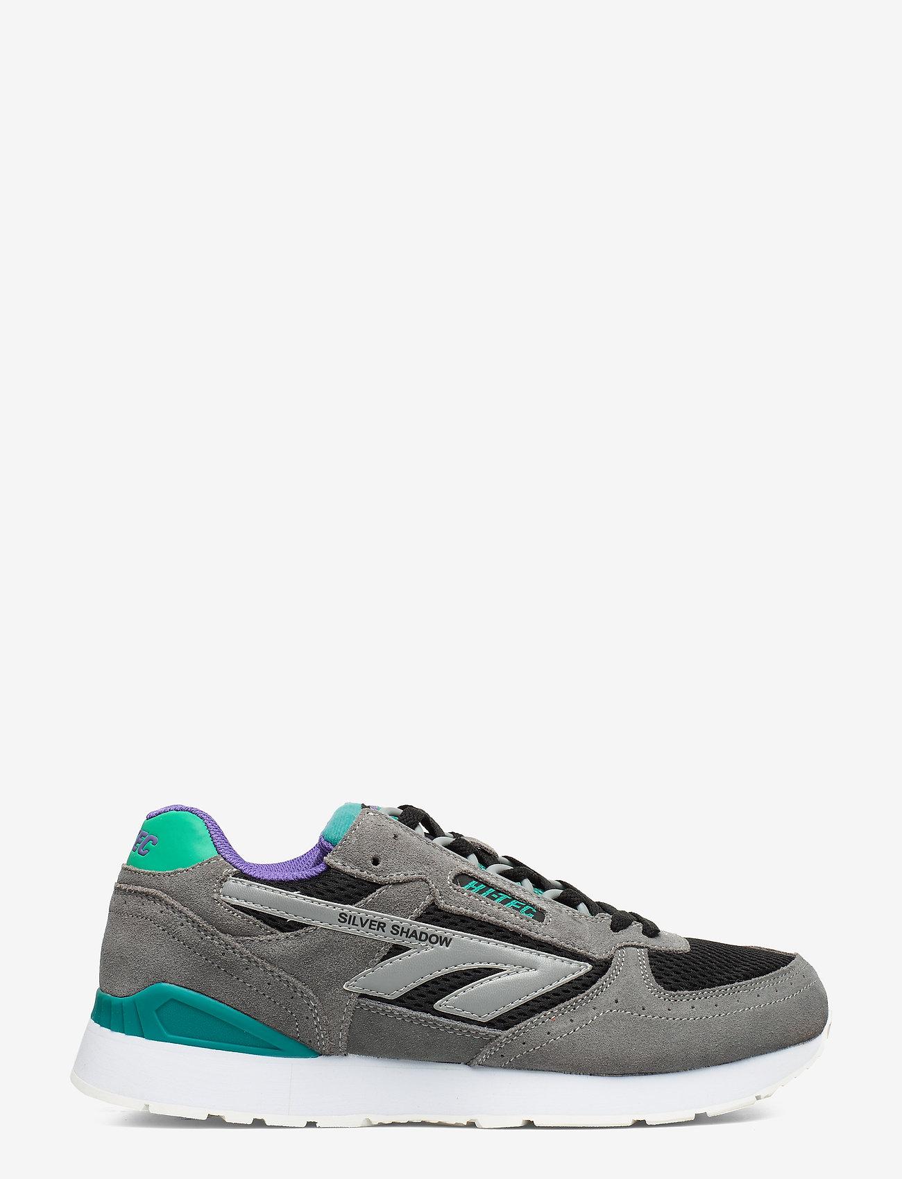 Hi-Tec HT SILVER SHADOW FROST GREY/TEAL/PURPLE - Sneaker GREY/TEAL/PURPLE - Schuhe Billige