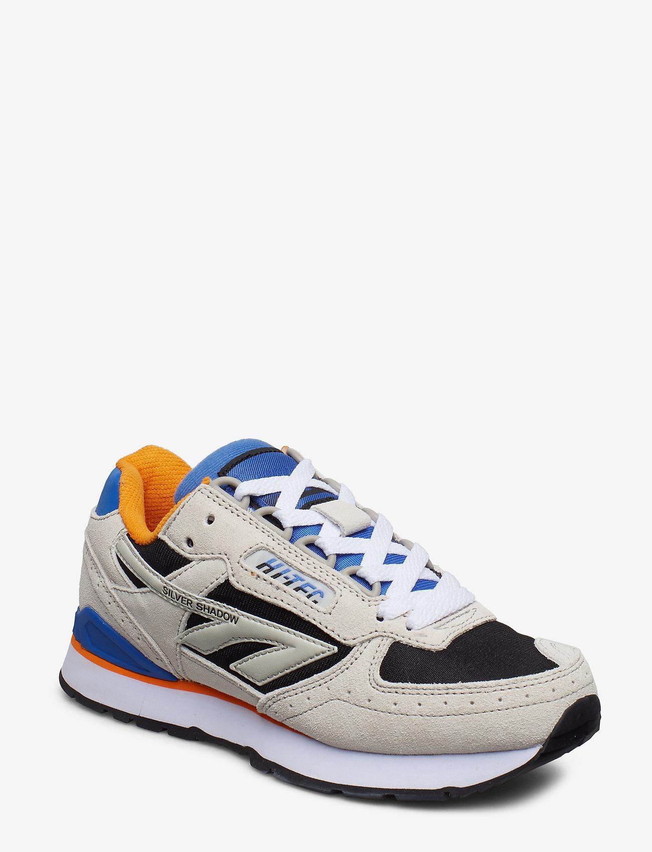 Hi-Tec - HT SILVER SHADOW GREY/BLACK/BLUE/ORANGE - lav ankel - grey / black / blue / orange - 0