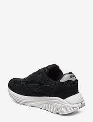 Hi-Tec - HT SHADOW RGS CORE SUEDE BLACK/WHITE - chunky sneakers - black/white - 2