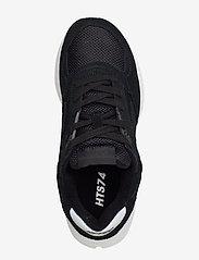 Hi-Tec - HT SHADOW RGS CORE SUEDE BLACK/WHITE - chunky sneakers - black/white - 3