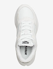Hi-Tec - HT SHADOW RGS SUEDE WHITE/BLACK - chunky sneakers - white/black - 3