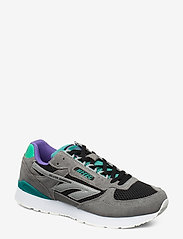 Hi-Tec - HT SILVER SHADOW FROST GREY/TEAL/PURPLE - lav ankel - grey/teal/purple - 0