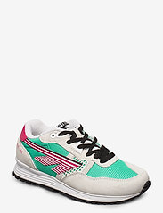 Hi-Tec - HT BW 146 COTTON/EVERGREEN/PINK - sneakers med lav ankel - cotton/evergreen/pink - 0
