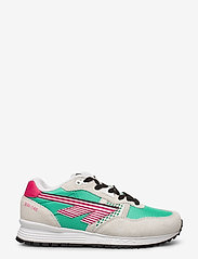 Hi-Tec - HT BW 146 COTTON/EVERGREEN/PINK - sneakers med lav ankel - cotton/evergreen/pink - 1