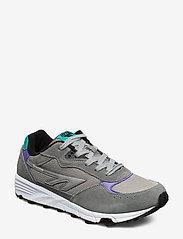 Hi-Tec - HT SHADOW TL FROST GREY/TEAL/PURPLE - lav ankel - grey/teal/purple - 0