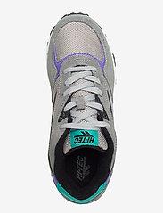 Hi-Tec - HT SHADOW TL FROST GREY/TEAL/PURPLE - lav ankel - grey/teal/purple - 3
