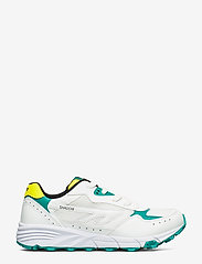 Hi-Tec - HT SHADOW TL WHITE/NAVIGATE/YELLOW - sneakers med lav ankel - white/navigte/yellow - 1