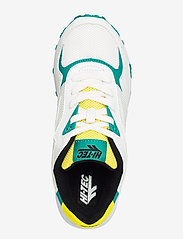Hi-Tec - HT SHADOW TL WHITE/NAVIGATE/YELLOW - sneakers med lav ankel - white/navigte/yellow - 3