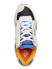 Hi-Tec - HT SILVER SHADOW GREY/BLACK/BLUE/ORANGE - lav ankel - grey / black / blue / orange - 3