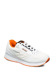 HT SILVER SHADOW WHITE/BLACK/RED ORANGE - WHITE/BLACK/RED ORNG