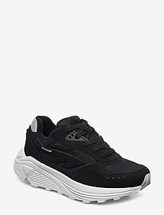 HT SHADOW RGS CORE SUEDE BLACK/WHITE - chunky sneakers - black/white