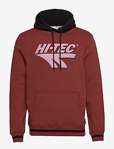 HT TOSI - hoodies - oxblood/black