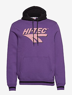HT TOSI - hoodies - purple/black