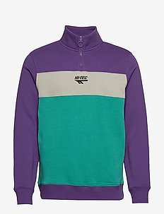 HT COVERT - sweatshirts - purple/silver/teal