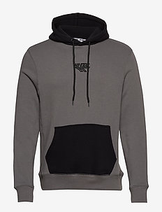 HT AUGUST - hoodies - charcoal/black