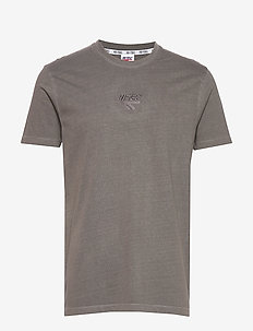 HT COWLES - short-sleeved t-shirts - charcoal