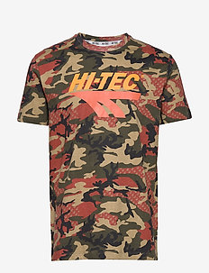 HT OVERBY - short-sleeved t-shirts - camo