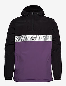 HT GUFFEY - hoodies - black/purple