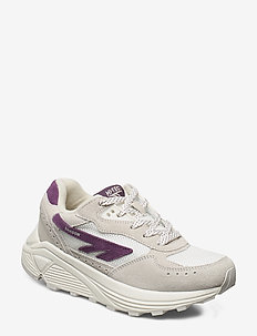 HT SHADOW RGS SUEDE COTTON/PURPLE DUSK - chunky sneakers - cotton/purple dusk