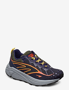 HT RGS FIZO NAVY/RED ORANGE/YELLOW - chunky sneakers - navy/red orange/yellow