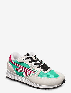 HT BW 146 COTTON/EVERGREEN/PINK - sneakers med lav ankel - cotton/evergreen/pink