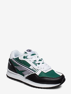 HT BADWATER 146 WHITE/GREEN/PURPLE - low tops - white / green / purple