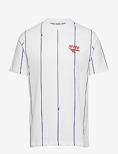 HT GENE - short-sleeved t-shirts - bright white