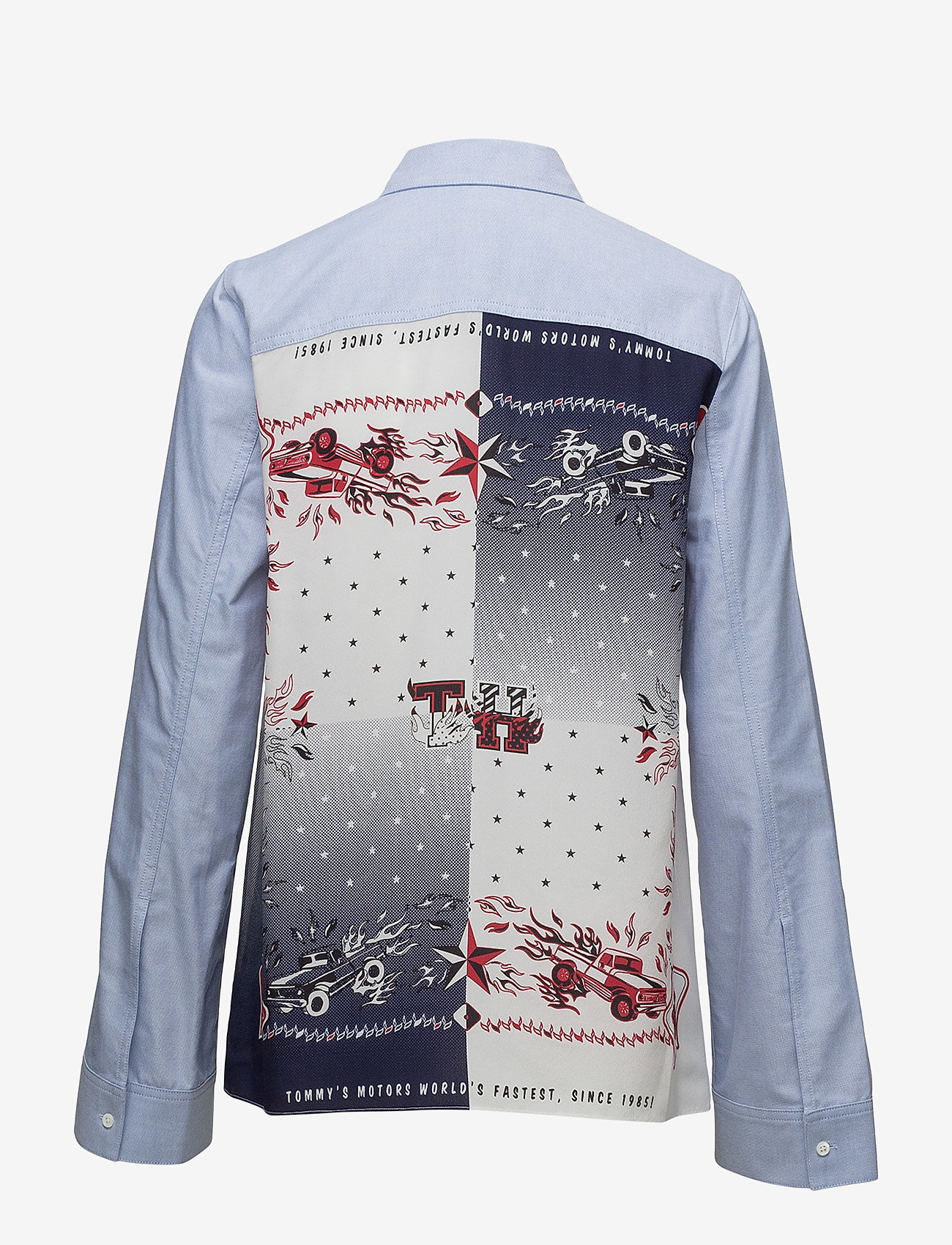 Hilfiger Collection - BANDANA SHIRT LS - chemises à manches longues - oxford / multi